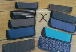"""10  Eyeglass Cases for Thin Style Readers """"X"""" Assorted Style"""