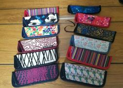 """12  Eyeglass Cases for Thin Style Readers """"S"""" Assorted Style"""
