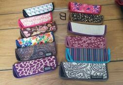 """12  Eyeglass Cases for Thin Style Readers """"B"""" Assorted Style"""