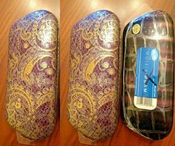 3 PACK - Accessory Essentials Eyeglass Case, Purple Color
