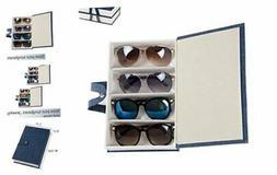 ADTL 4 Slots Eyeglass Sunglass Storage Box Display Glasses B