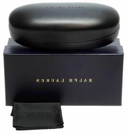 Ralph Lauren Authentic Sunglass Case Black w/ Box & Cleaning