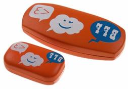 bff smiley sunglasses contact lens hard case
