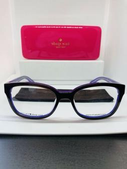 Kate Spade Eyeglasses - purple -black - Plastic-eye care- Gl