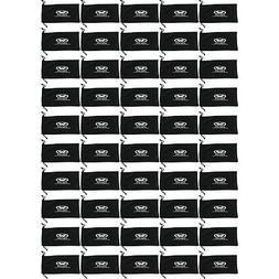Bulk Lot 50 LARGE Black Micro Fiber Sunglasses Carrying Pouc