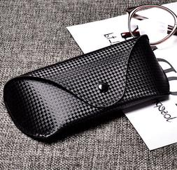 Carbon Fiber Sunglasses case Soft Leather Cases Fits for Ran