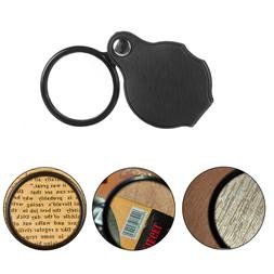 Case Educational Tool Portable Pocket Loupe Eye Glass Lens J