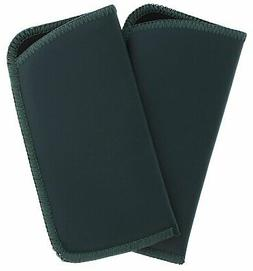 Classic Faux Leather Eyeglass Slip Cases Hunter Green For Me