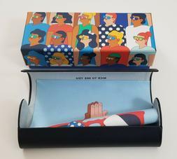 designer diversity eyeglass case case box