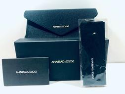 Dolce & Gabbana Sunglasses/Eyeglasses Case Black Soft Button