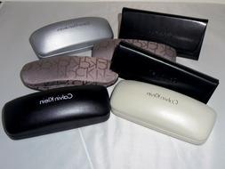 Calvin Klein Eyeglass & Sunglass Cases New! Black and Gray
