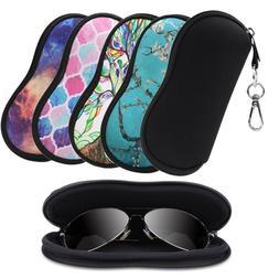 Eyeglasses Case w/ Belt Clip Portable Anti-scratch Dust-proo