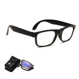 Folding Reading Glasses  Men Women Presbyopic Eyeglasses Wit
