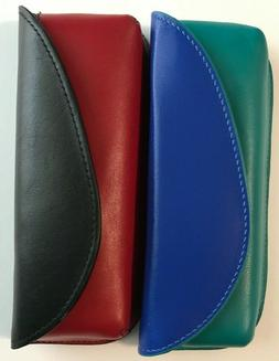 ILI Genuine Leather Eyeglass Cases With Magnetic Closure