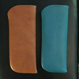 ILI Genuine Leather Reading Glass Cases In Jeans Blue Or Ant
