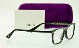 GUCCI GG0156OA 001 Black Optical  Eyeglass Frame 54mm ITALY