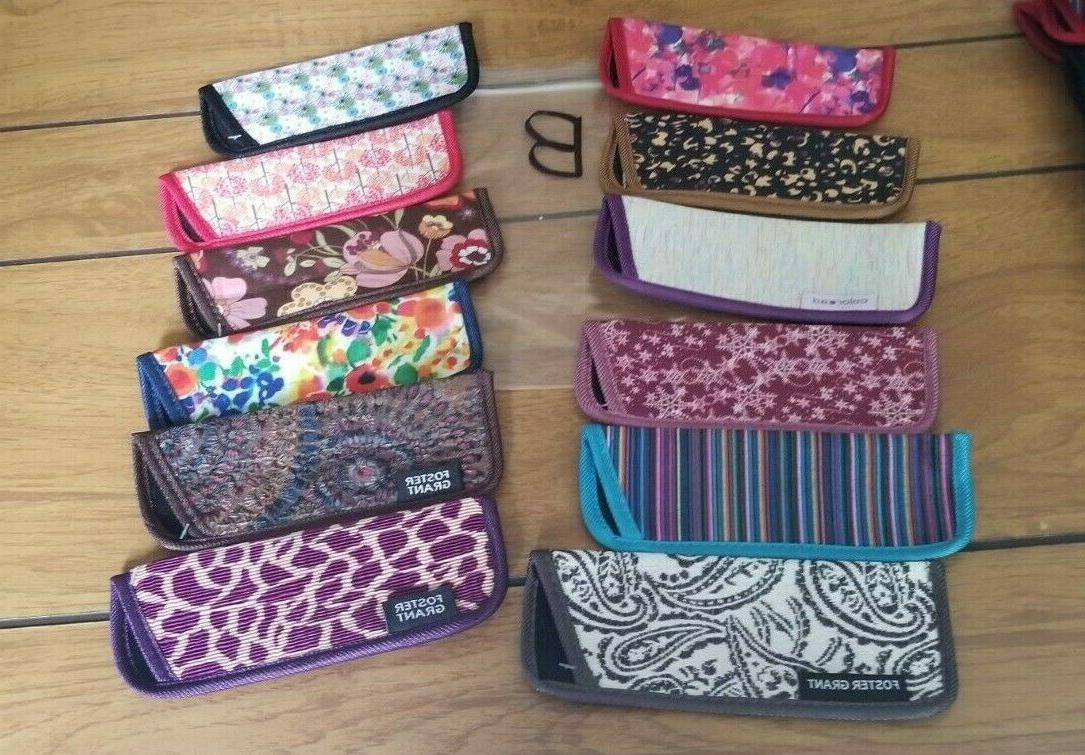 12 eyeglass cases for thin style readers