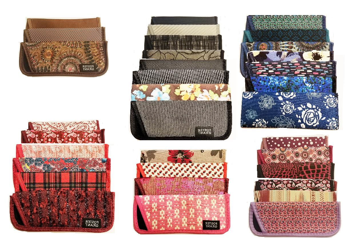 2 fabric soft cases to store your