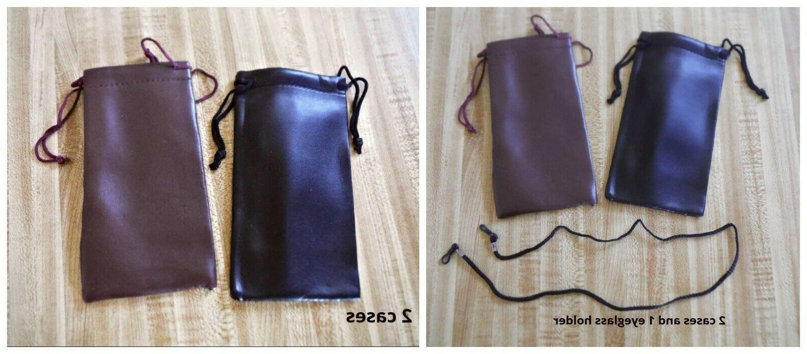2 soft case pouch bag holders 2