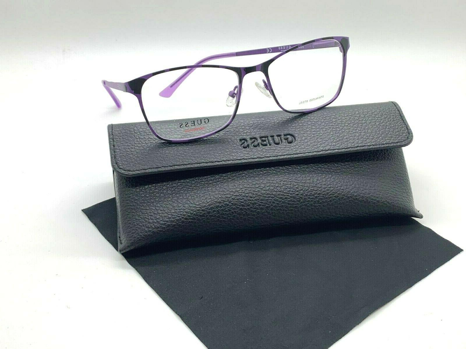 authentic gu3012 082 purple spotted 53 16