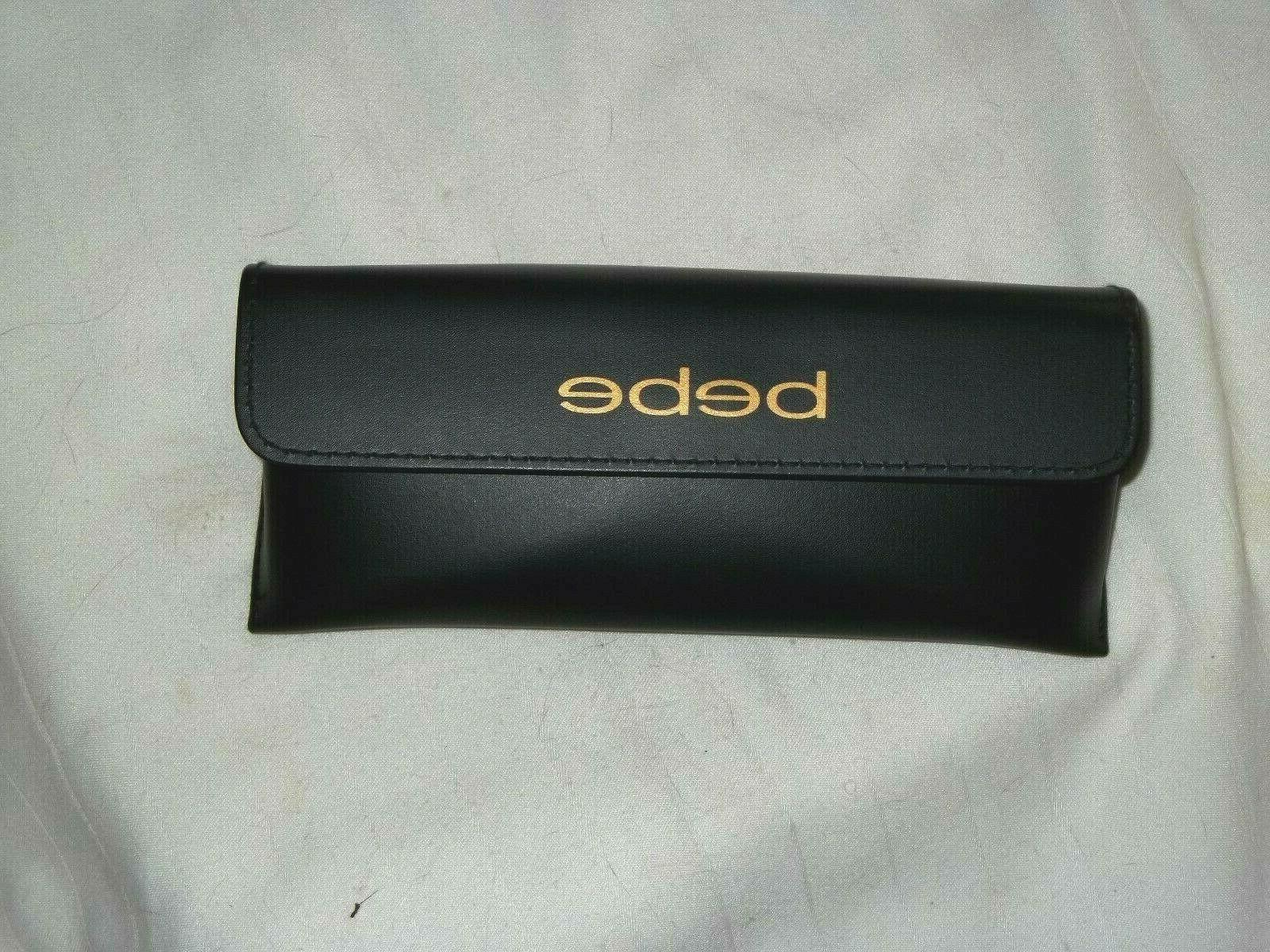 black eyeglass case new