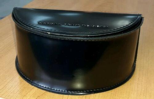 black eyeglass sunglass case new never used