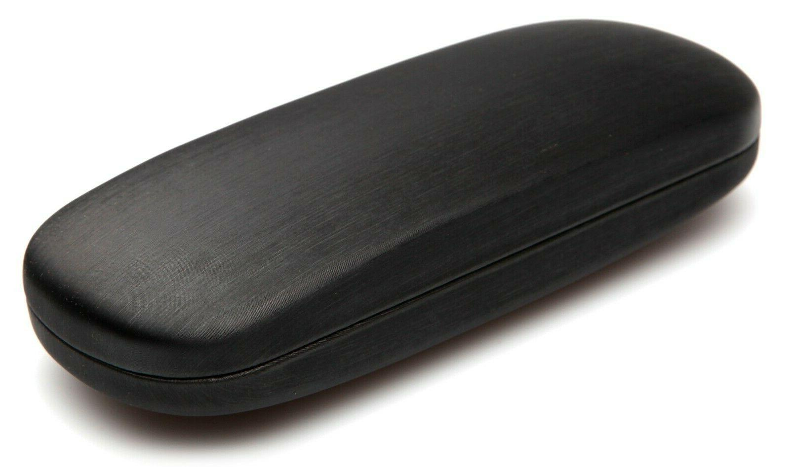 NEW Clam Shell Eyeglasses Glasses Case w/ Microfiber Cleaning Cloth