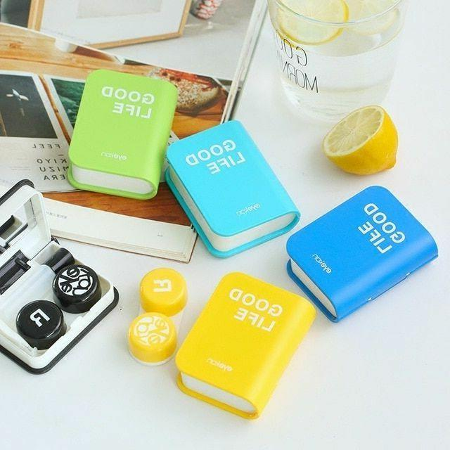 eye glasses container contact lens box eyeglasses