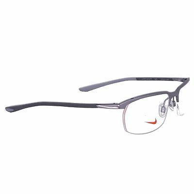 eyeglasses 6070 070 gunmetal modified rectangle men