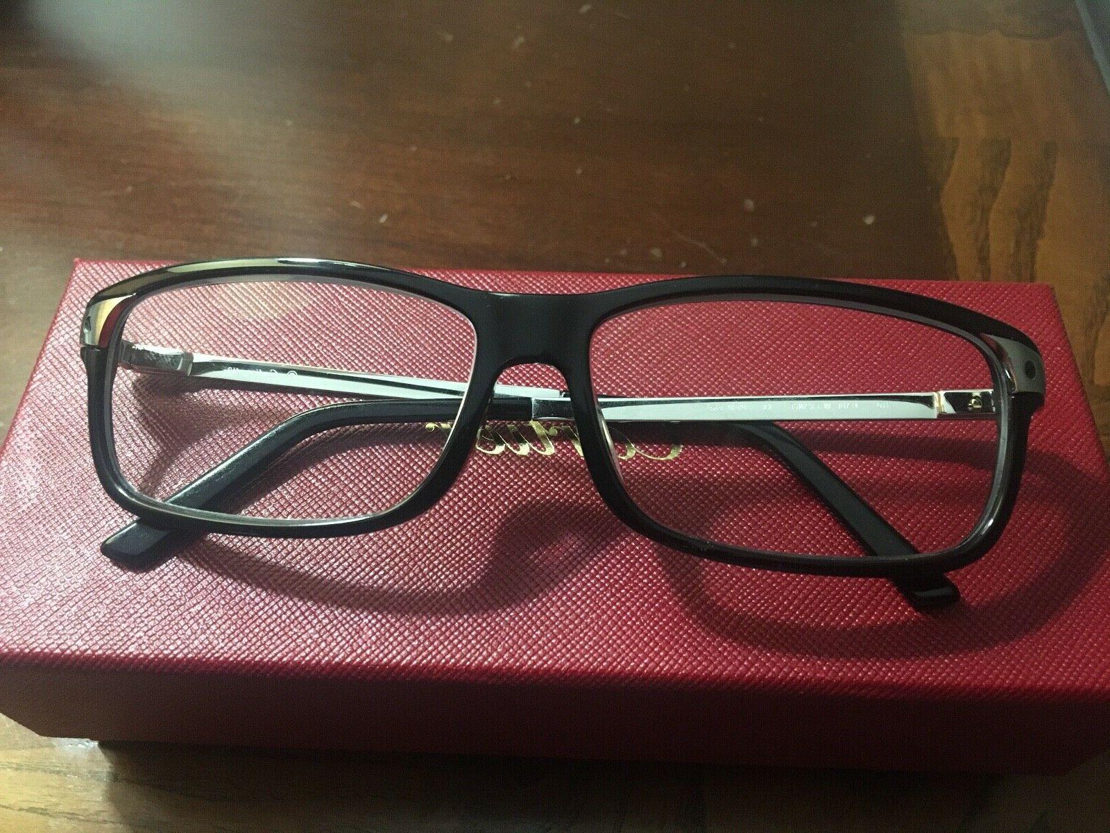 eyeglasses black silver ct 0073o 001 france