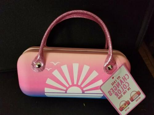 girls hand bag style sunset color changing