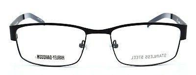 Harley BLK Men's Eyeglasses Frames 56-18-145 Matte Black