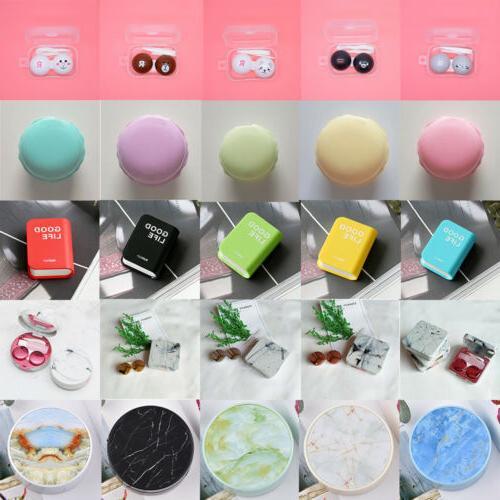 mini mirror contact lens travel kit easy