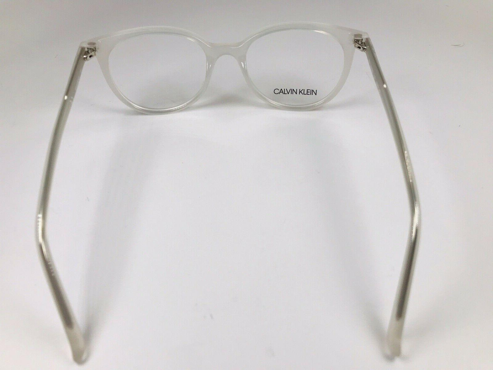 New Calvin Klein CK19508 101 Eyeglasses 49mm with