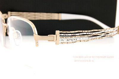 New Eyeglass Titanium XL 2084 WG White Gold w/o case