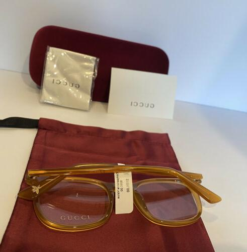New Gold Square Frame & Bee