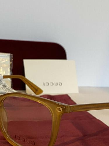 New Gold Square Optical Frame W/ & Bee