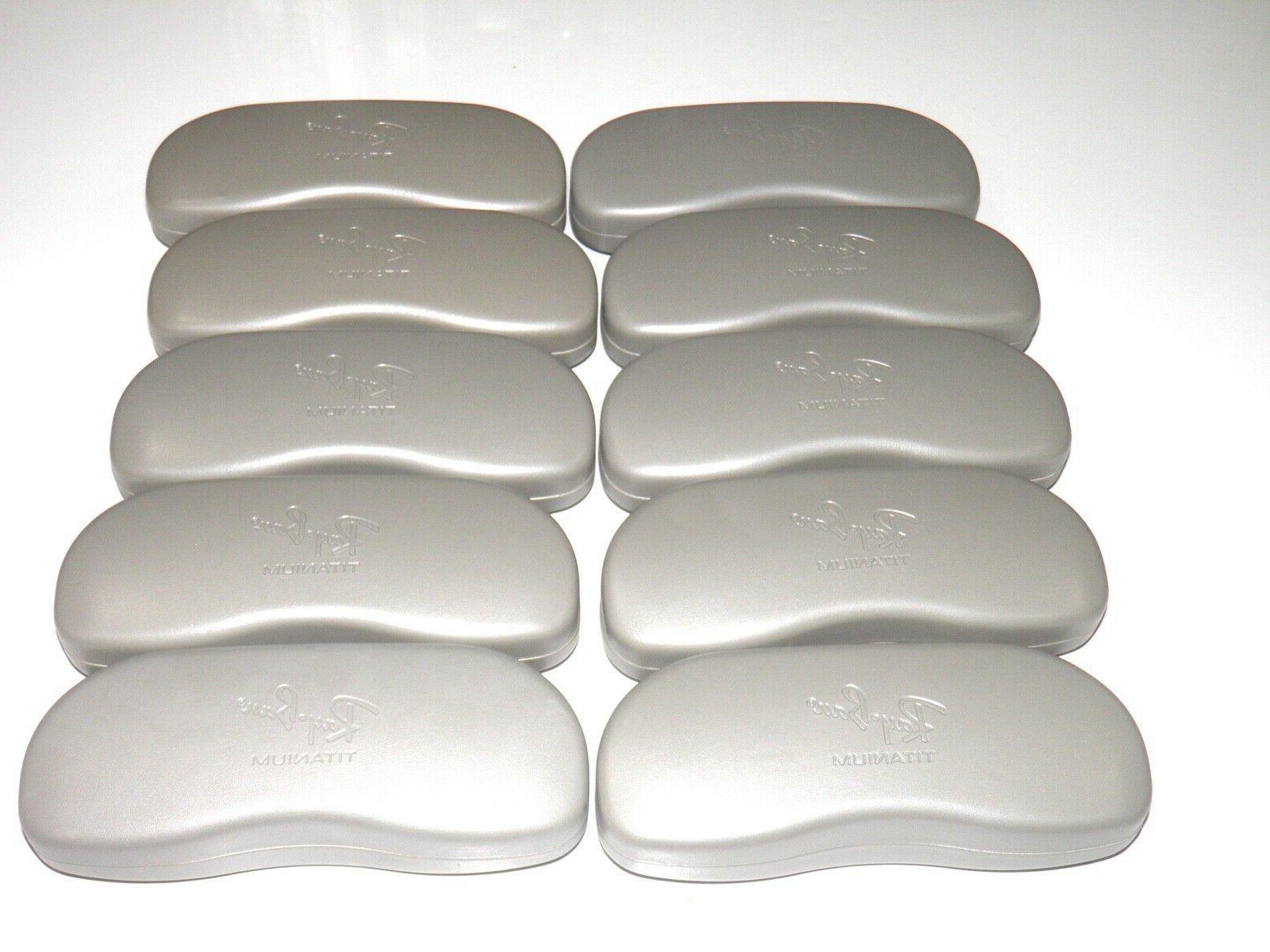 rayban gray eyeglasses hard cell case lot