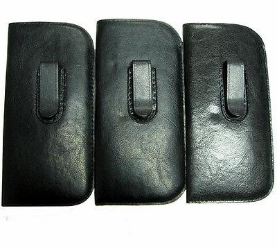 vinyl eyeglasses cases with clip large size