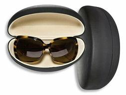 Large Sunglasses Case For Men & Women, Hard Shell Eyeglass C
