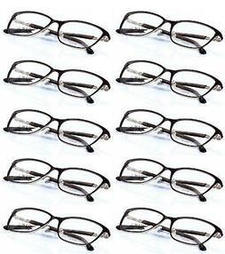 BOB MACKIE Lot of 10 Women's B103 Crystal Accented Eyeglass