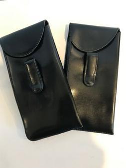 MENS EYEGLASS CASE FOLD OVER TOP WITH POCKET CLIP BUY 1 Get