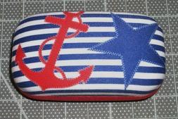"Cape Shore ""Nautical Chic"" Contact Lens Case NEW"