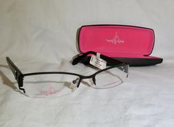 Baby Phat 138 eyeglasses 51-17-135 Black prescription 1/2 ri