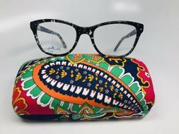 New Authentic Vera Bradley Emerson Blue Bayou Eyeglasses 53m