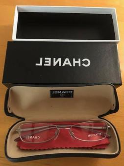 Chanel New Authentic Women Eyeglass Frame 2044-T c.211 53 18