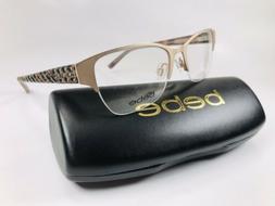 New bebe BB5161 770 Rose Gold Eyeglasses 52mm with bebe Case