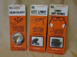 New Evans Case Vintage Eye Cessories Eyeglass Holder, Temple