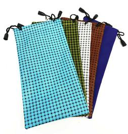New Microfiber Pouch Bag Soft Cleaning Cases for Sunglasses