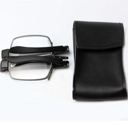 New Reading Glasses Women Men Portable Presbyopic Folding Wi